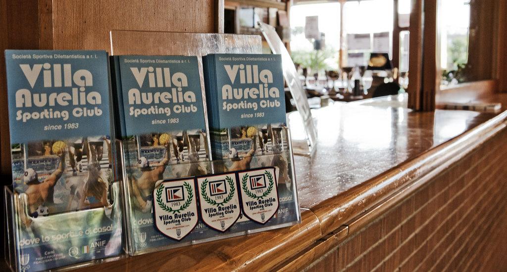villa aurelia reception