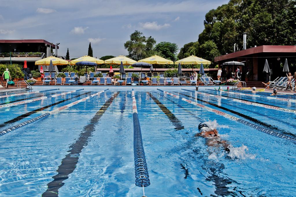 nuoto libero villa aurelia